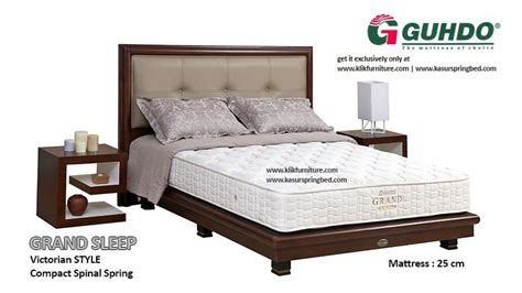 Guhdo Grand Sleep Style 160x200 Springbed Set springbed grand sleep style sale promo