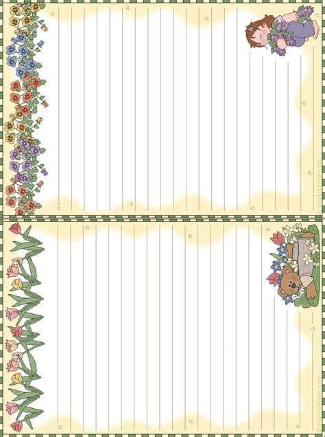 free printable decorative note cards 17 best images about printable memo on pinterest kawaii