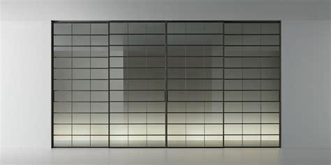 rimadesio porte rimadesio porte scorrevoli in vetro e alluminio librerie