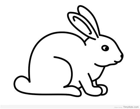 rabbit coloring timykids