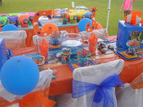 Finding Nemo Decorations by Finding Nemo Birthday Ideas Finding Nemo Birthday