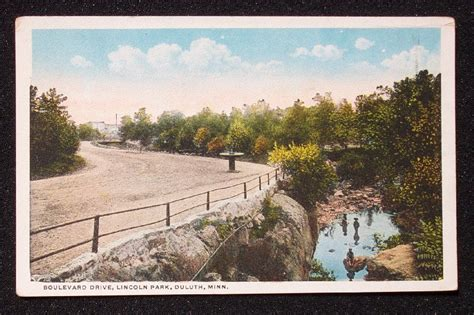 lincoln park duluth mn 1920s boulevard drive lincoln park duluth mn st louis ebay