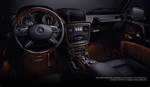 2013 g class g550 futuremodel interior 05 motorbash
