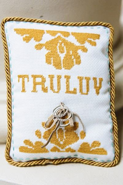 do it yourself weddings diy counted cross stitch ring