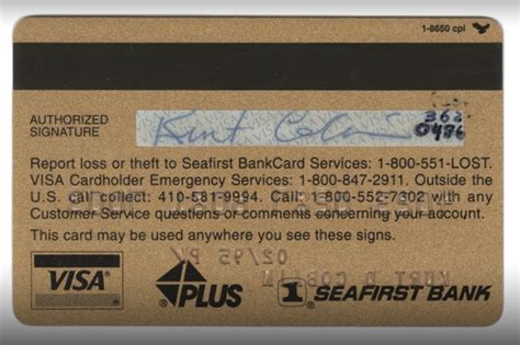 Banca Pop Bz by Subastar 225 N Tarjeta De Cr 233 Dito De Kurt Cobain Cochinopop