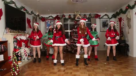 girls jingle bell rock youtube
