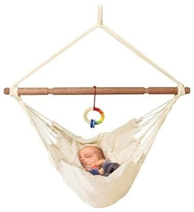 newborn swings and bouncers organic baby hammock with adjustable positions