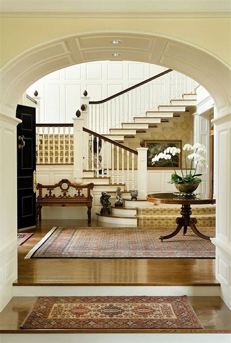 beautiful entryways alluring entrance hall with white arched partition wall