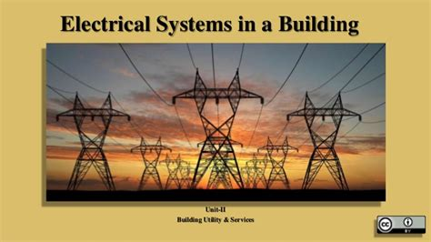 electrical wiring accessories ppt electrical systems in a building