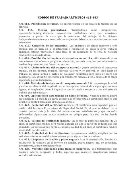 codigo del trabajo chile edicion 2001 resumen del codigo de trabajo
