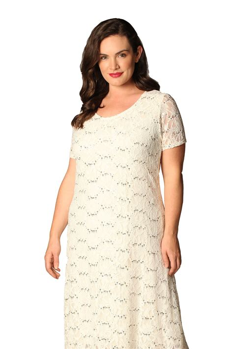 Sequin Sleeve Avail In 3 Colours Place 08 womens plus size dress flapper sequin lace floral sleeve nouvelle ebay