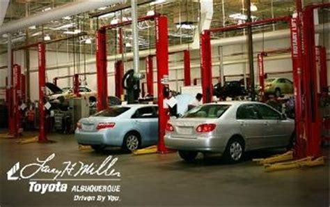 Karl Malone Toyota Service Larry H Miller Toyota Of Albuquerque In Albuquerque Nm