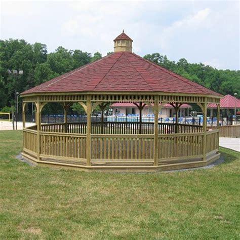 Big Gazebo Large Wood Gazebos Country Gazebos