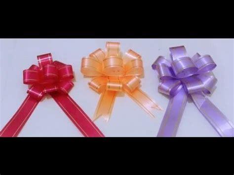 membuat gift diy gift bow 3 youtube