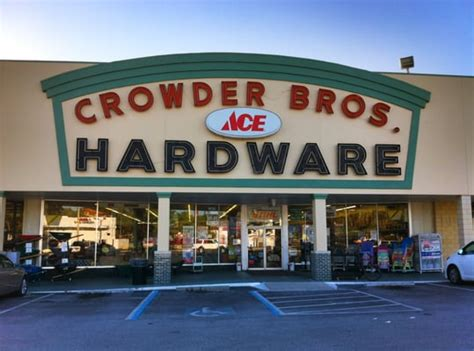 ace hardware nearest crowder bros ace hardware lakeland fl yelp