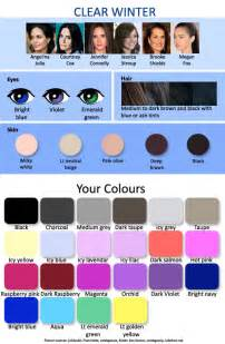 seasonal color analysis 12 seasonal palettes 3 winters expressing your