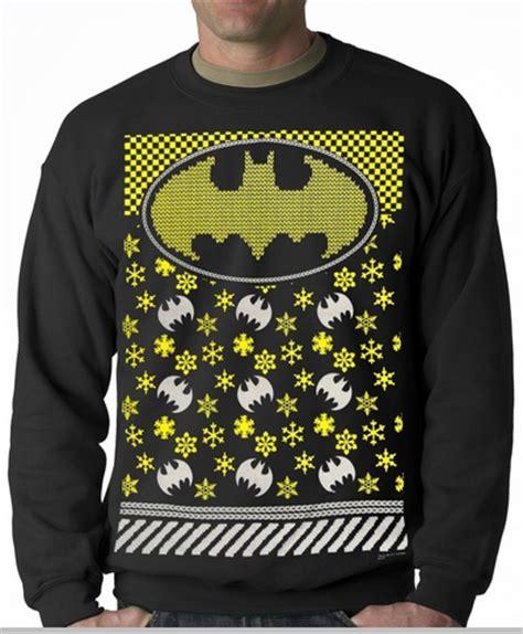 official batman sweater crewneck
