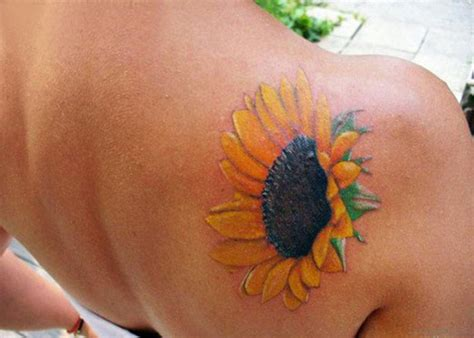sunflower designs for tattoos 85 pretty sunflower tattoos designs for back