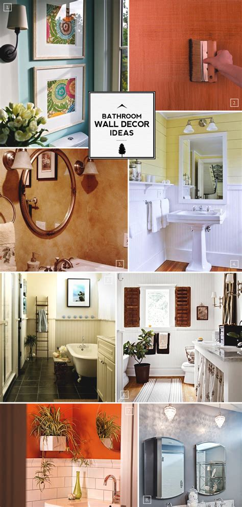 Ideas For Bathroom Wall Decor by Style Guide Bathroom Wall Decor Ideas Home Tree Atlas