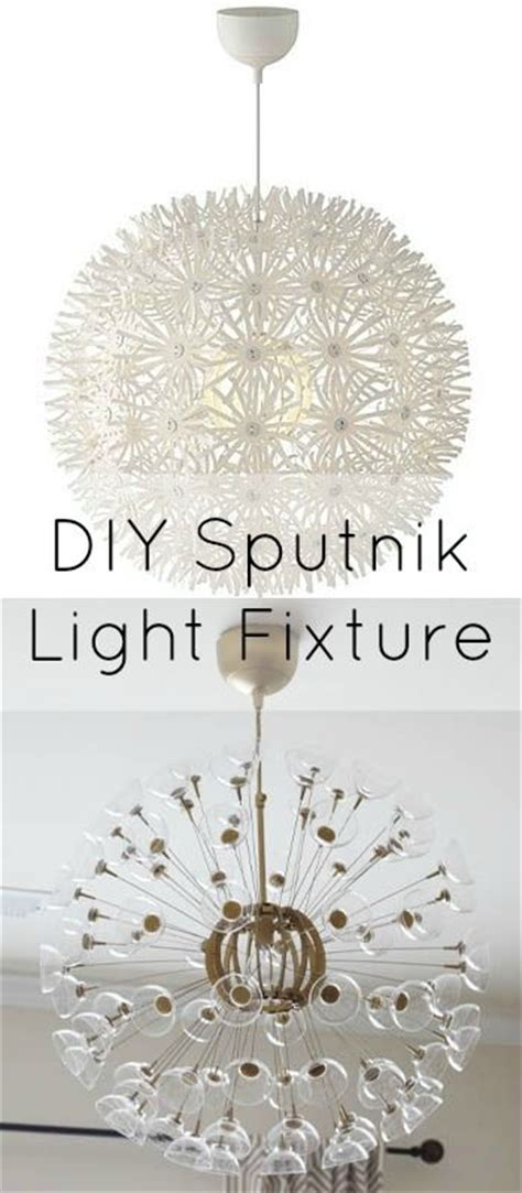diy sputnik chandelier pinterest the world s catalog of ideas