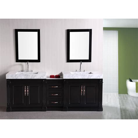 design element bathroom vanities design element odyssey 88 quot sink bathroom vanity