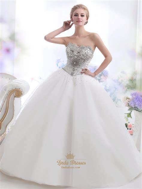beaded tulle gown ivory sweetheart gown heavily beaded bodice tulle