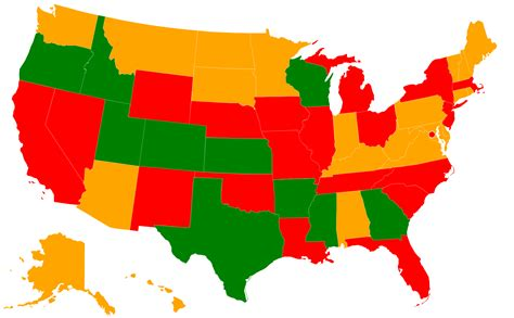 concealed carry usa map cus carry in the united states