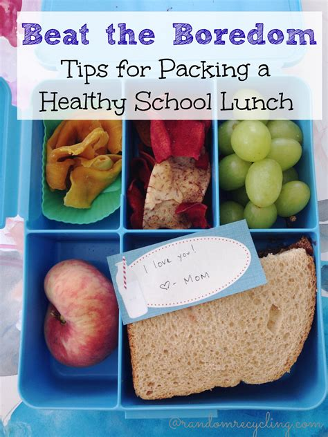 Beat A Healthy by Inspire Healthy Habits In Through The Lunch Box