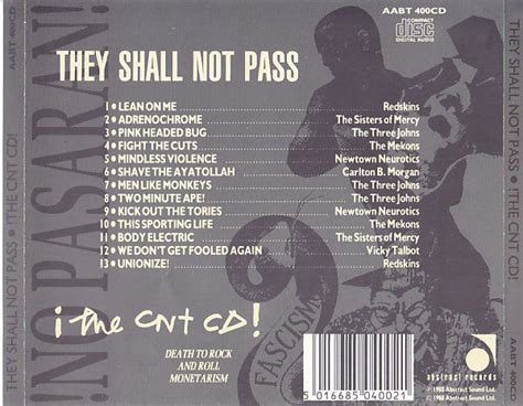 they shall not pass music ruined my life v a they shall not pass 1981 1982