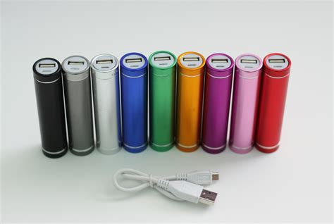 portable charger cell phone portable external cell phone chargers 9 colors