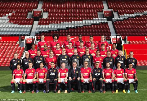 manchester united manchester united all change as latest team picture shows