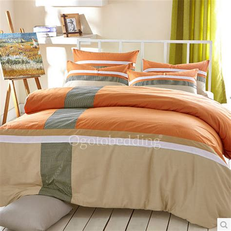 best comforter orange patterned modern best beautiful queen comforter