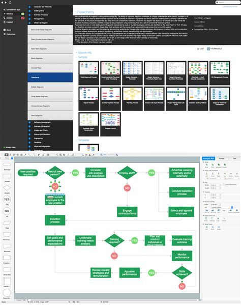 flowchar maker create flow chart on mac business process modeling tool