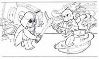 Awesome Lego Ninjago Coloring Pages To Print 29 Pictures  Gekimoe