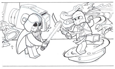 lego ninjago garmadon coloring pages