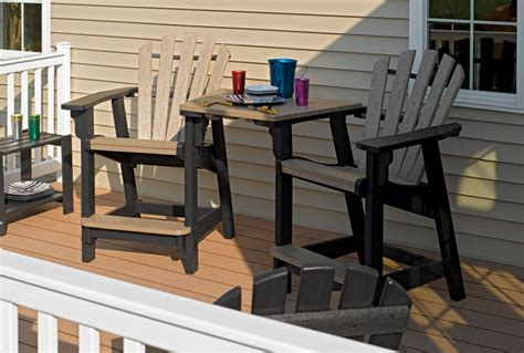 breezesta outdoor furniture breezesta tabletop recycled poly outdoor backyard patio furniture tete a tete
