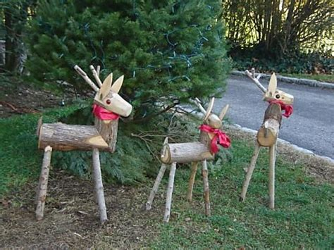 wooden reindeer yard decorations 22 beautiful diy decorations on