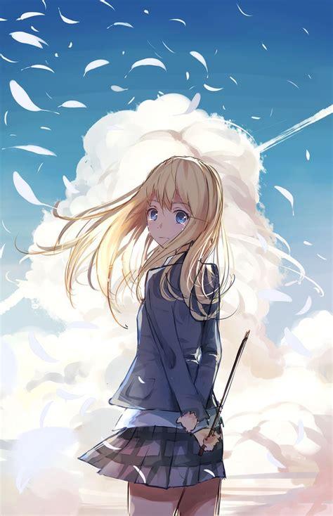 anime girls anime sunset shigatsu wa kimi no uso 372 best shigatsu wa kimi no uso images on pinterest