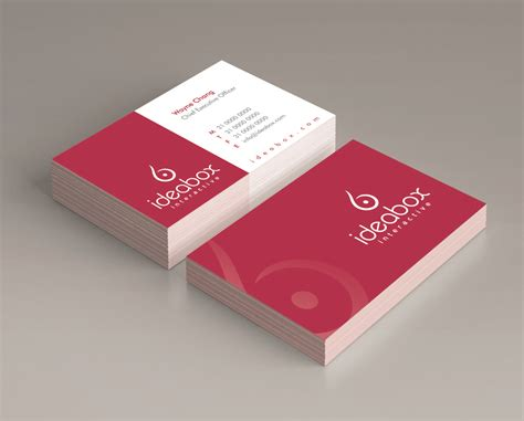 design name card elegant modern web design for wayne chan by gabrielm