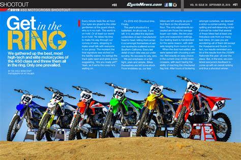 motocross 450 shootout 2019 450 motocross shootout cycle