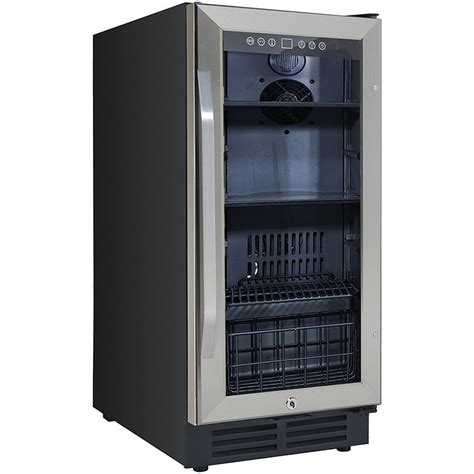 built in beverage center avanti 15 quot stainless steel beverage center bca3115s3s