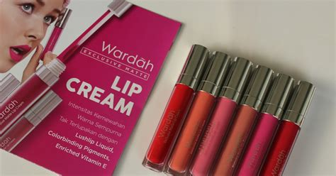 Lipstik Wardah Basah swatches wardah exclusive matte lip review no