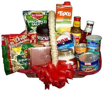 filipinas gifts holiday christmas gift basket