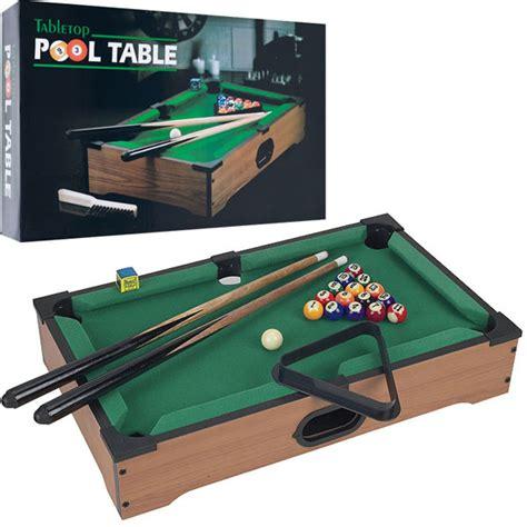 table top bar games 21 mini tabletop pool table wood billiards set