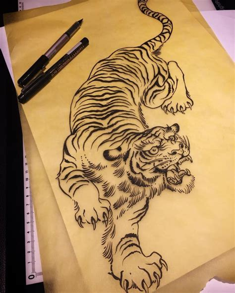 chinese tiger tattoo tiger on tiger sleeve four asian
