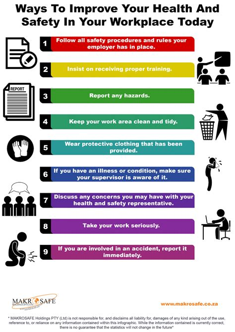 Ways To Improve Your Health Today by Ways To Improve Your Health And Safety In Your Workplace Today