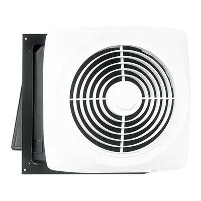 Wall Mount Bathroom Fan Bath Fans Bathroom Fans Lights Exhaust Fans And More At The Home Depot