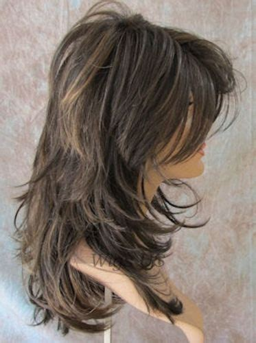 pics long choppy layered hairstyles with bangs wigs 67 best shags images on pinterest layered cuts layered