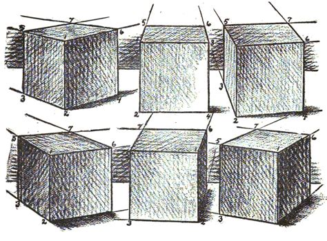 doodle drawing boxes how to draw boxes and cubes and how to shade them step by