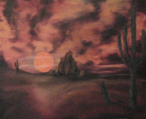 bob ross painting desert bob ross desert by drdohnutts on deviantart